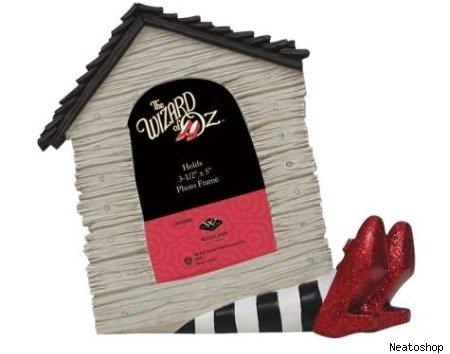 Geeky gift of the day wicked witch of the east doorstop is insanely charming the moviefone blog - Wizard of oz doorstop ...