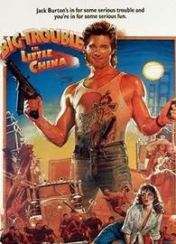 'Big Trouble in Little China' poster