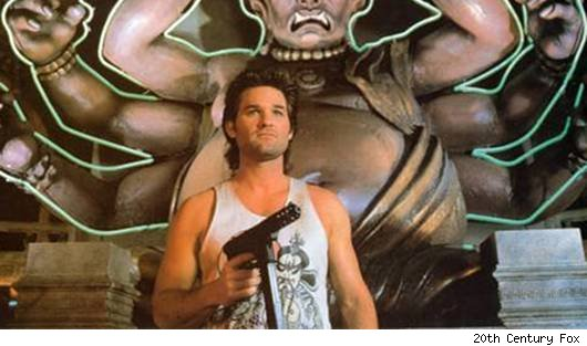 Kurt Russell in 'Big Trouble in Little China'