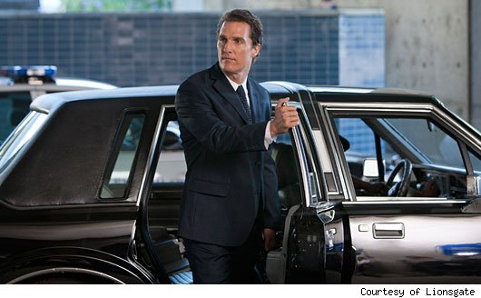 The Matthew McConaughey vehicle was the best-reviewed film of the three ...