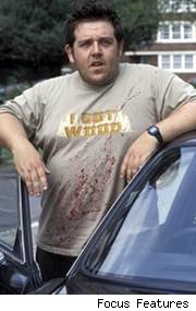 Nick Frost in 'Shaun of the Dead'