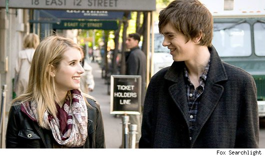 Sally and George on the streets of New York