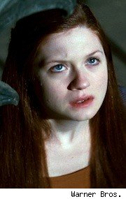 Bonnie Wright as Ginny Weasley