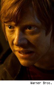 rupert grint, harry potter and the deathly hallows part 2, ron weasley
