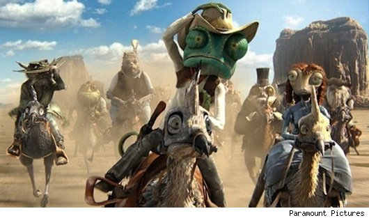 rango movie clips With The Lone Ranger Shot Down, What Do You Want to See in a Western?