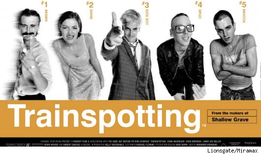 Trainspotting Poster Quote 'trainspotting' Poster