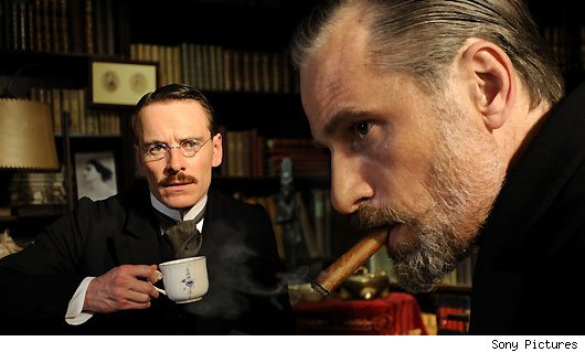 viggo mortensen, michael fassbender, a dangerous method