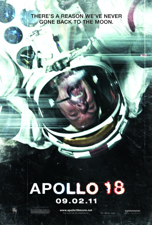 apollo18 530 Hear Them Scream in Space With the New Apollo 18 Poster (Moviefone Exclusive)