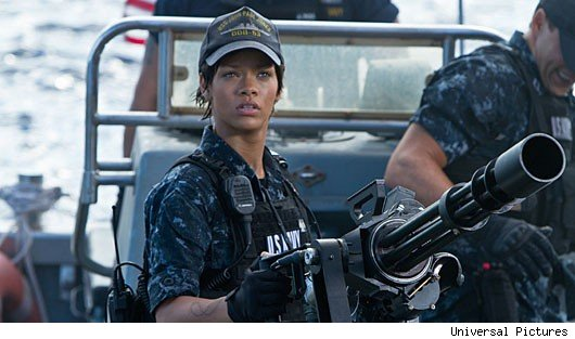 battleship rihanna Rihanna On Her Tough Battleship Training and Crazy Director