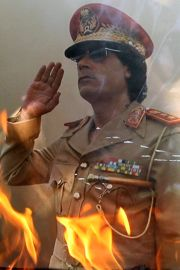 gadhafi poster The Fall of Gadhafi: The Hollywood Connection