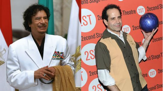 Moammar Gadhafi; Tony Shalhoub