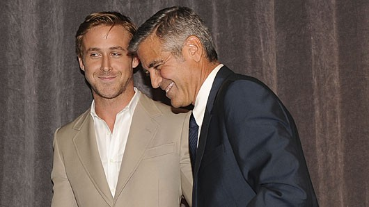 124413899 50 Year Old George Clooney Still Loves His Juvenile Pranks
