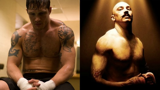 2picnik collage Tom Hardy in Warrior and More Actors Who Keep Reminding Us Were Out of Shape