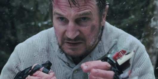 The Grey Trailer Liam Neeson Fights Nature Wolves Alaskan