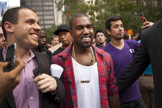 kanye occupy 550 Do Hollywood Celebrities Have a Right to Occupy Wall Street?