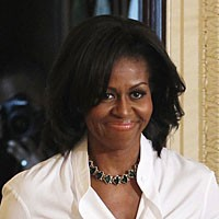 michelleobama.8c2089c395f64df1abddd8da757fe1e4 Woody Allen Wouldnt Hestitate to Cast Michelle Obama in a Movie
