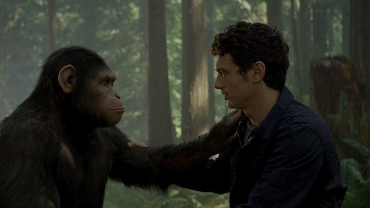 rise of the planet of the apes roa 467rgb James Franco on Andy Serkiss Rise of the Planet of the Apes Performance: What is Needed is Recognition for Him, Now