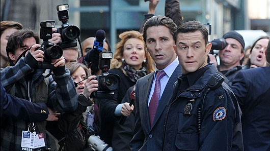 darkknight Joseph Gordon Levitt Visits Occupy Wall Street (Without Batman)