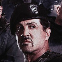 expend2 poster 1 1321647853 The Expendables 2 Poster: Sylvester Stallone, Arnold Schwarzenegger and Bruce Willis Shoot Guns