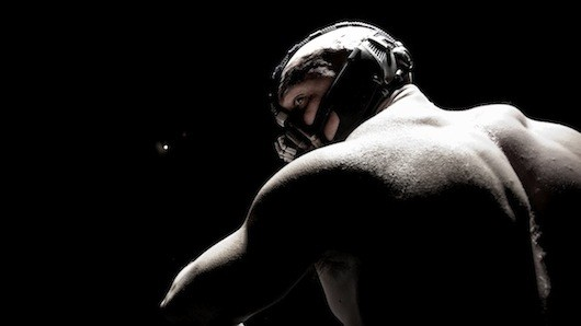dark knight rises movie image tom hardy bane hi res 01 The Dark Knight Rises Teaser Poster: The Legend Ends Thanks to Bane?