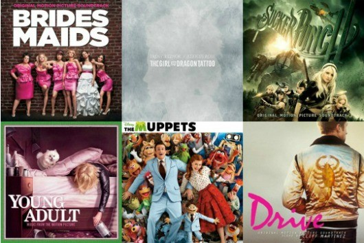 soundtrack post Best Soundtracks of 2011: Drive, The Girl With the Dragon Tattoo, The Muppets and More