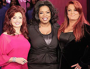 Oprah Winfrey and The Judds