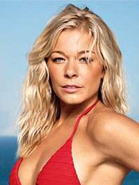 LeAnn Rimes Cover of Shape Magazine
