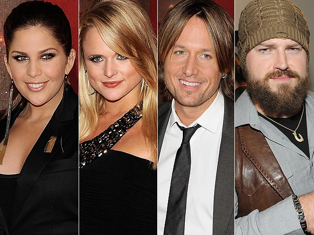 CMA 2010 Nominees Lady Antebellum, Miranda Lambert, Keith Urban, and Zac Brown