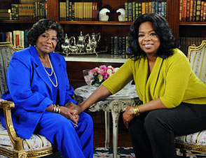 Katherine Jackson and Oprah
