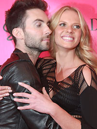 Adam Levine and girlfriend Anne Vyalitsyna