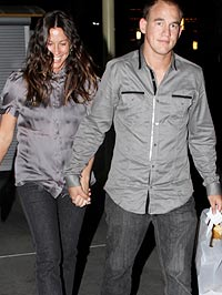 Alanis Morissette and Mario Souleye Treadway