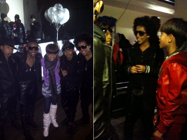 Mindless Behavior Join Willow Smith Backstage
