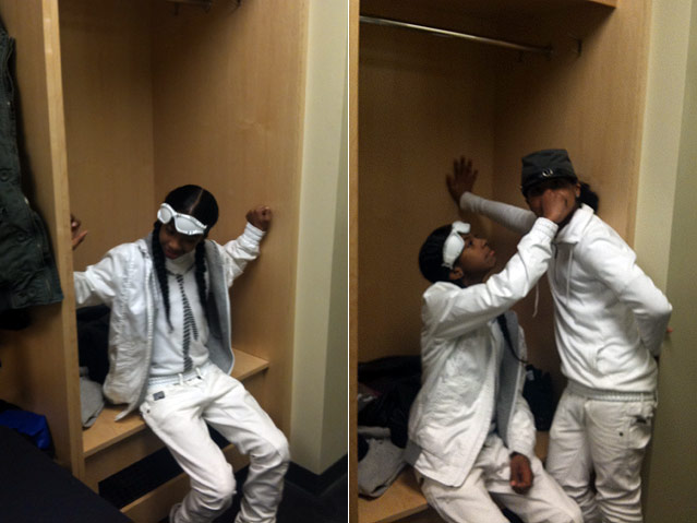 Backstage With Mindless Behavior