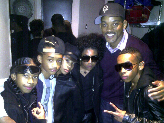 Mindless Behavior Hang Out With Will Smith and Jaden Smith
