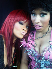 Rihanna and Nicki Minaj