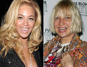 Beyonce and Sia