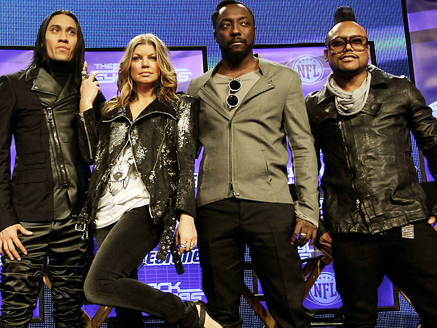 Usher Super Bowl 2011 Outfit. during Super Bowl XLV#39;s