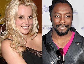 Britney Spears and Will.I.Am