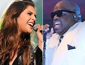 Hillary Scott of Lady Antebellum, Cee Lo Green