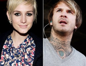 Ashlee Simpson and Craig Owens