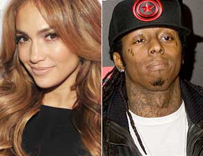 Jenifer Lopez and Lil Wayne