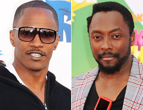 Jamie Foxx, will.i.am
