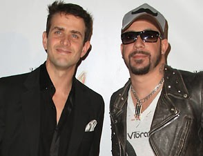 NKOTBSB Joey McIntyre and AJ McLean