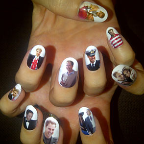 Katy Perry Prince William Nails