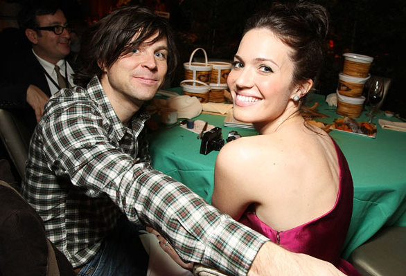 Ryan Adam and Mandy Moore