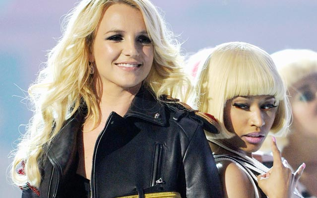 Nicki Minaj and Britney Spears Perform At The 2011 Billboard Music Awards