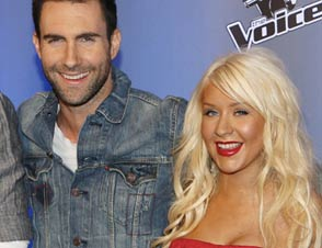 Adam Levine, Christina Aguilera