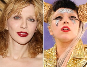 Courtney Love, Lady Gaga