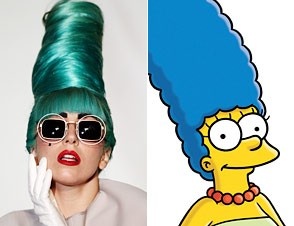 how to make marge simpson hair