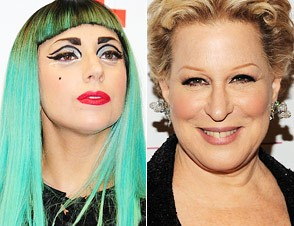 Lady Gaga, Bette Midler